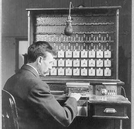 hollerith applies for punch card