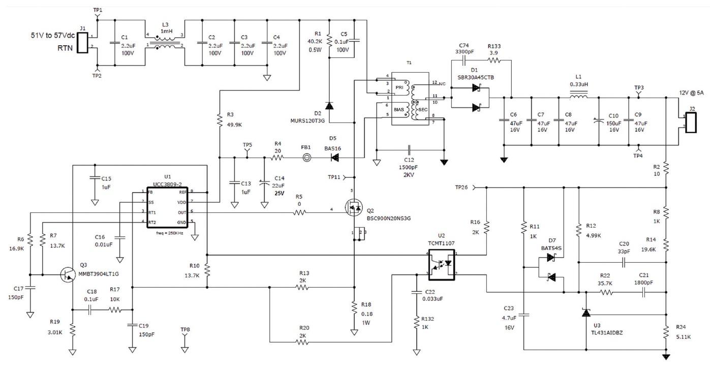 設計CCM反馳式轉換器 - 電子技術設計