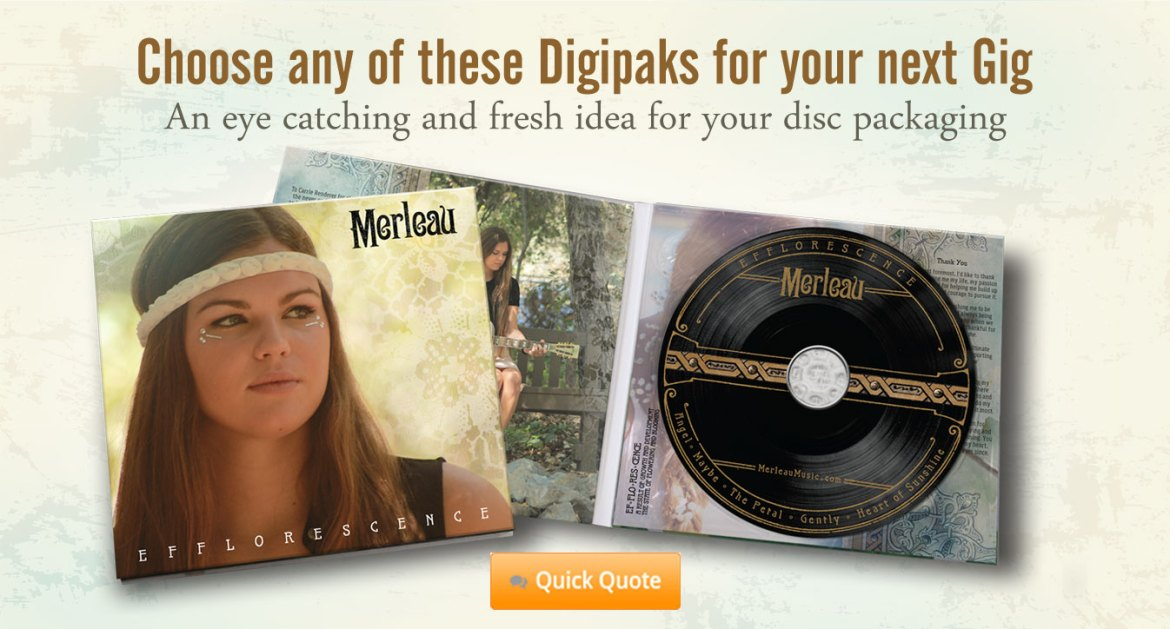 Digipak is The Ultimate in Disc packaging
