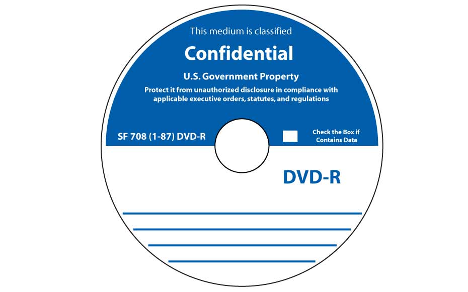 SF-708-1-87 CD-R or DVD-R