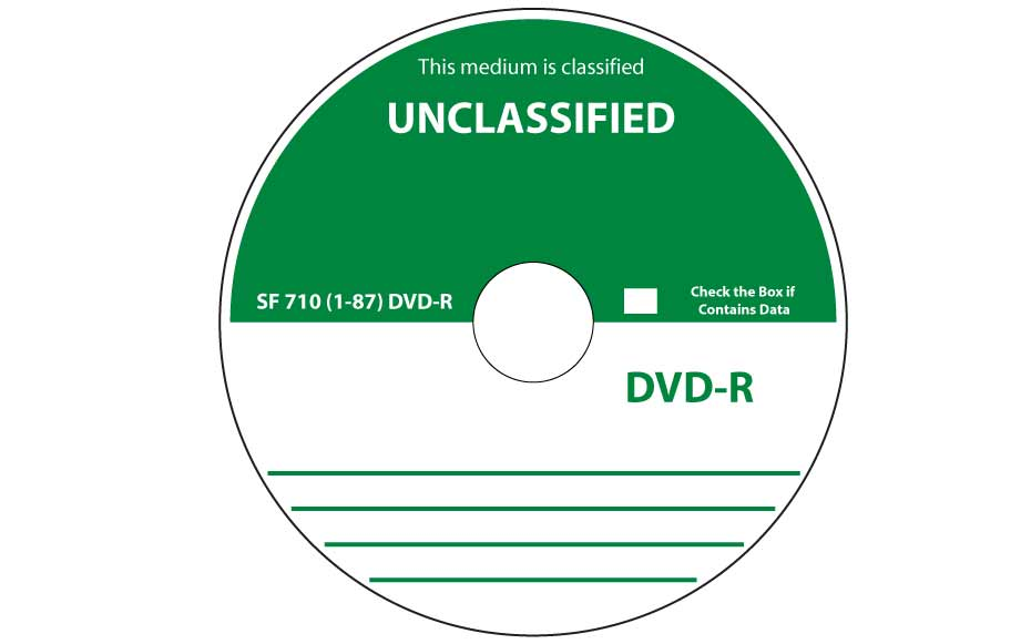 SF-710-1-87 CD-R or DVD-R