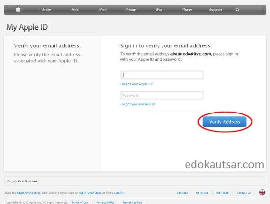 Daftar iTunes tanpa credit card
