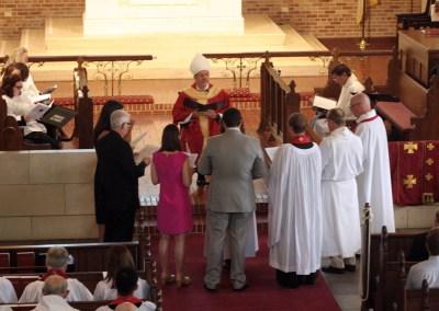 Photographs: Ordination of the Rev. Liz Embler-Beazley