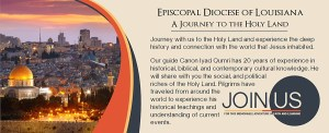 Journey to the Holy Land with the Episcopal Diocese of Louisiana
