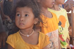 Cute girl in Village
