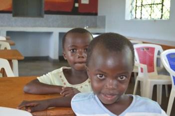 Kids at Cherry Brierley