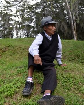 Old man we saw at Mayan Ruins