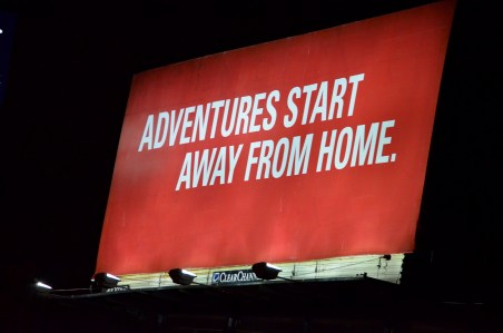 Billboard at Hotel at Launch