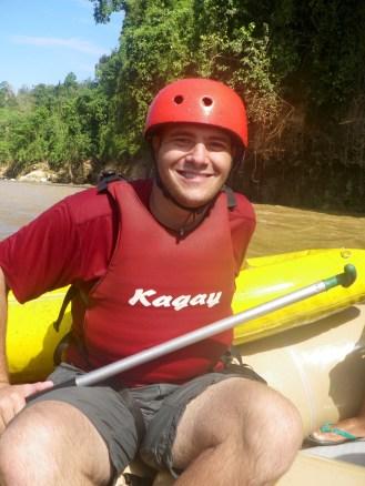 Rafting on my birthday
