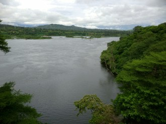 The Nile River in Jinja!