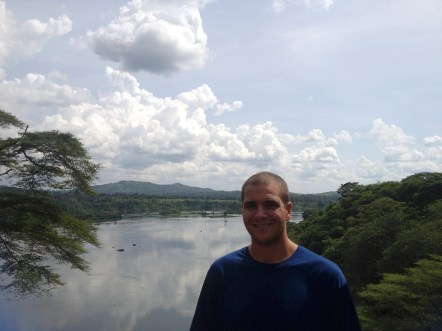 Me looking over the Nile!