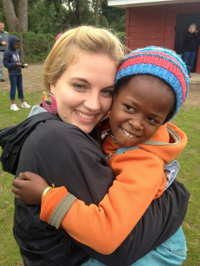 Michelle with Beautiful South African Girl