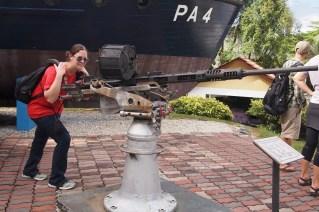 Cathy finally found her big gun