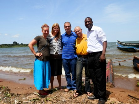 Some of Us at Lake Victoria!