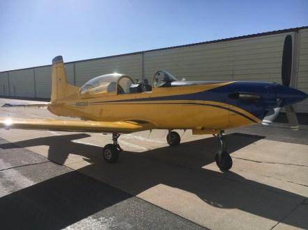 The PC-7 - beautiful airplane!