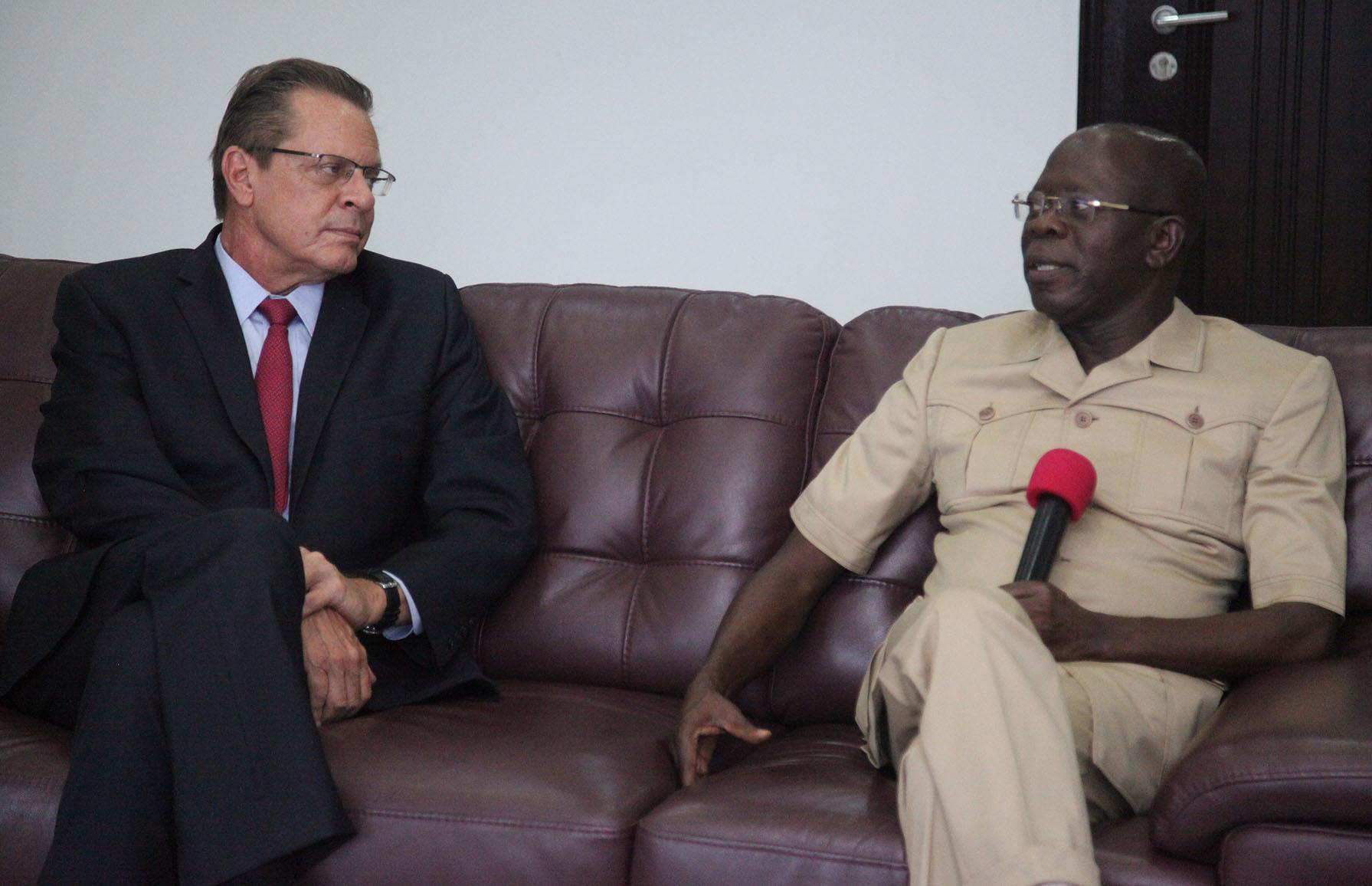 Edo now haven for investors, Oshiomhole tells US envoy