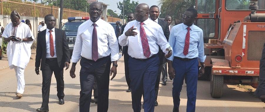 Yuletide: Edo Govt embarks on urgent road rehabilitation to decongest traffic