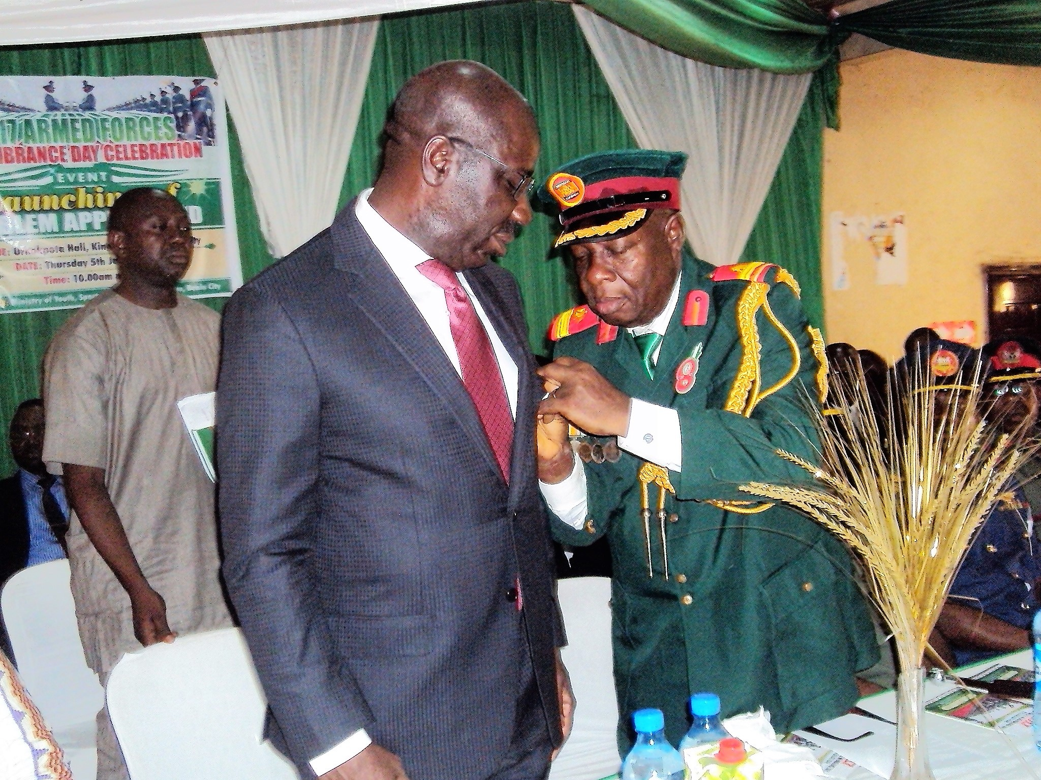 Obaseki lauds ex-servicemen, assures them of Govt. support