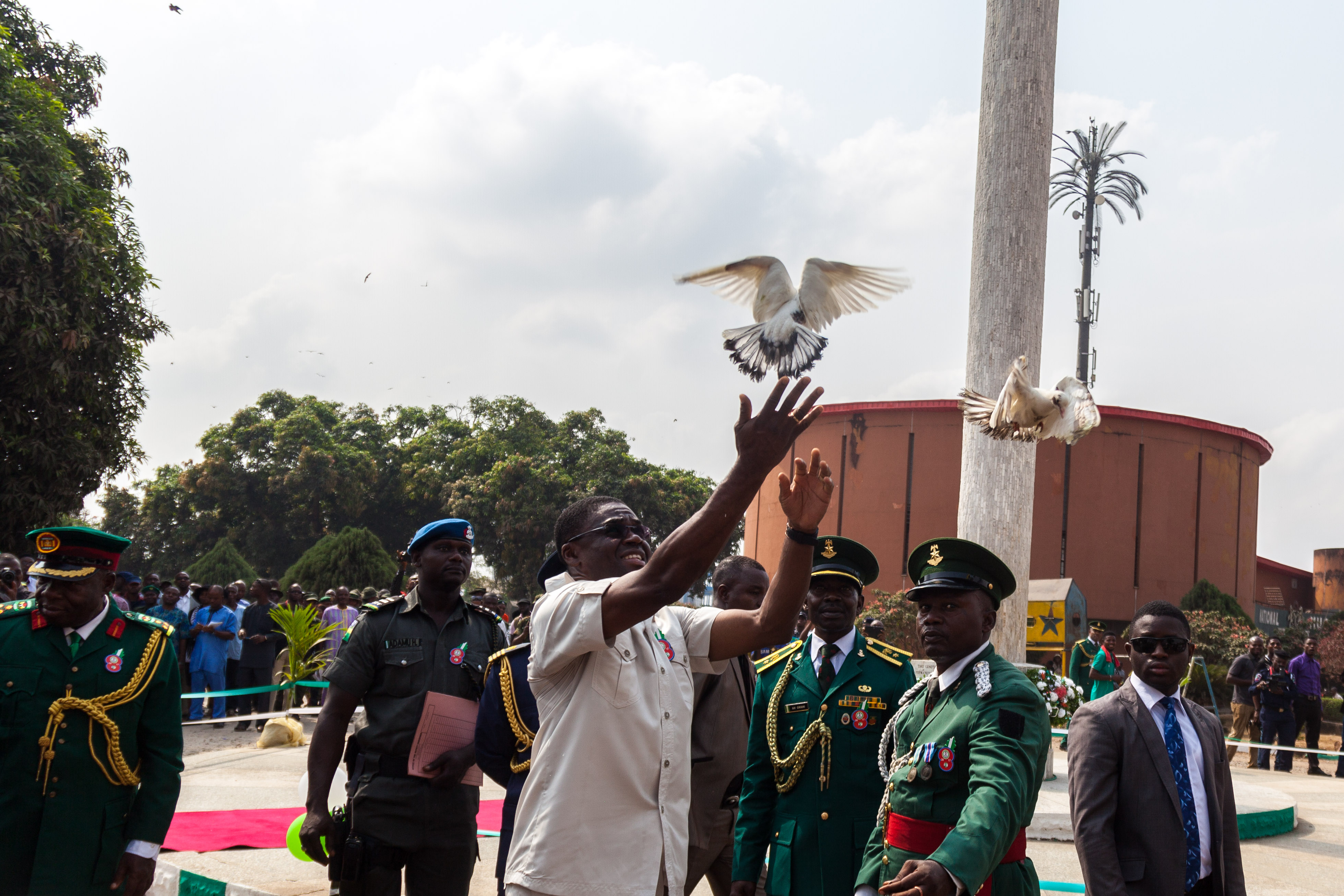 2017 Armed Forces Remembrance Day: Obaseki commends officers over giant strides