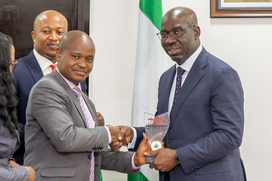 Obaseki gets Ambassador of Eye Care Award