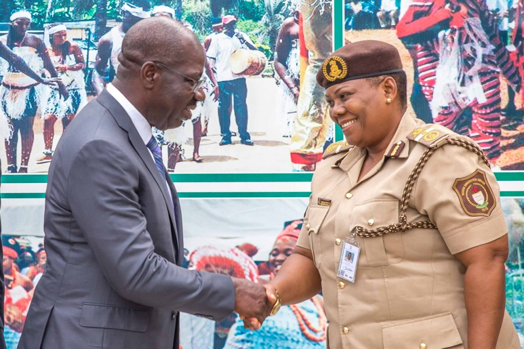 Edo seeks partnership with NIS in re-settling returnees