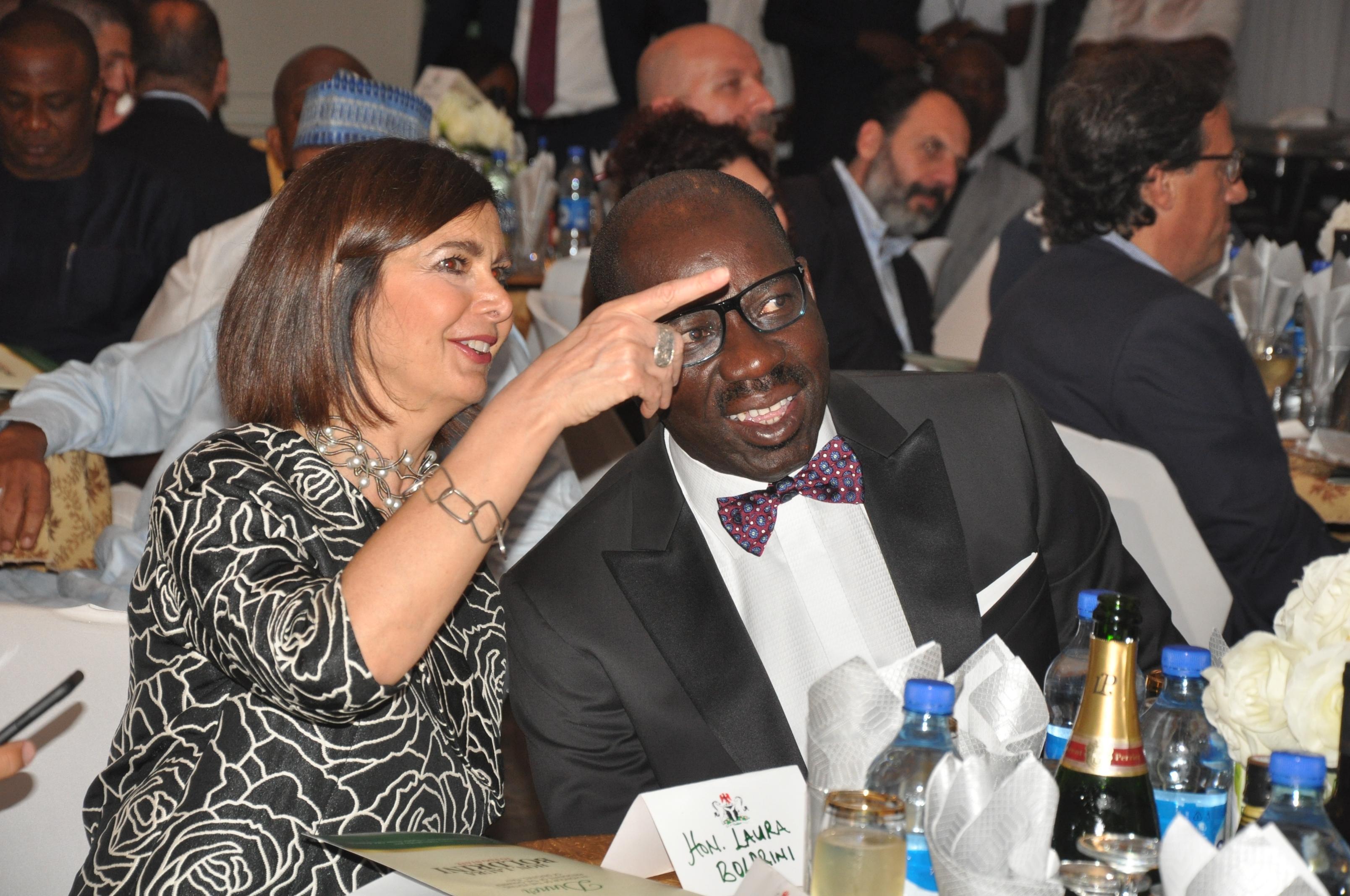 Edo, Italy revisit history, strengthen ties