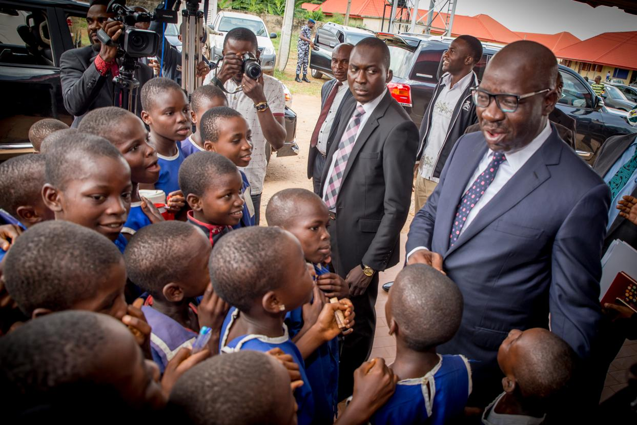 Edo to domesticate School Feeding Programme