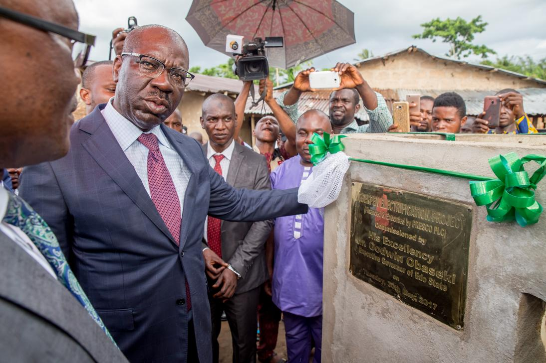 Obaseki commissions electricity project in Benin