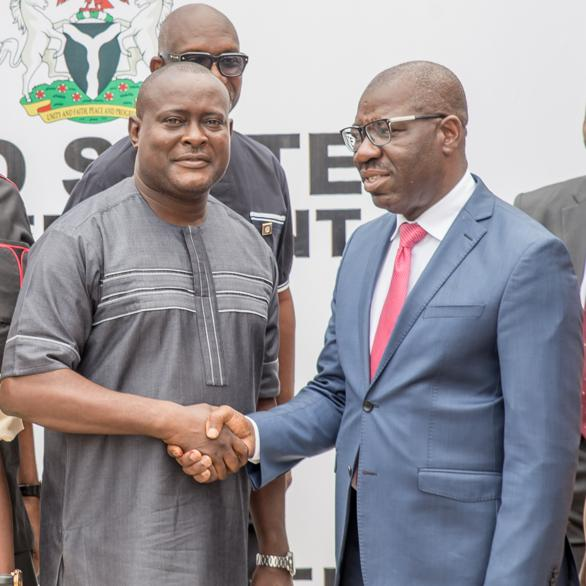 Obaseki, religious leaders to strengthen education in Edo