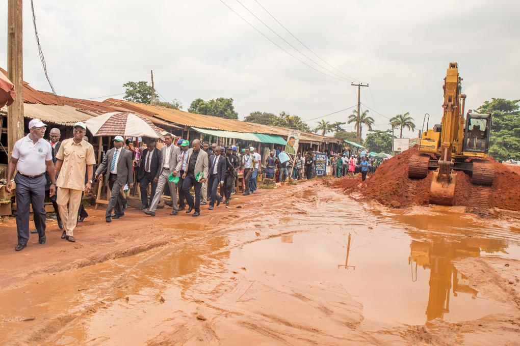 Lucky Way: Benin residents hail Obaseki on infrastructure