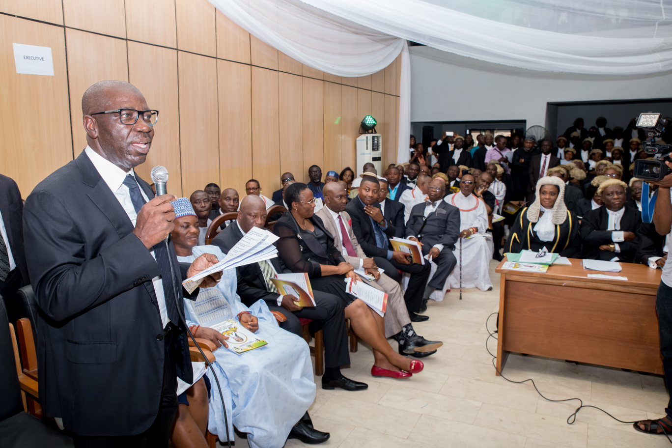 Valedictory Court Session for Justice Andrews Obaseki holds in Benin City