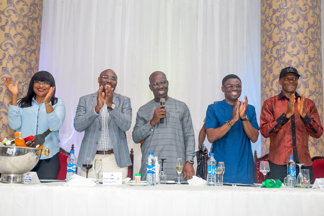 Obaseki fetes Falconets, Tanzanites after U-20 World Cup match