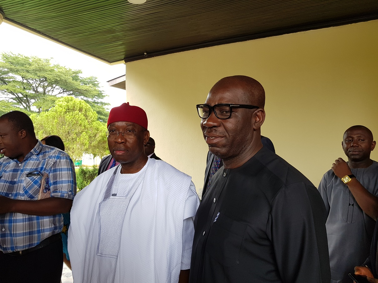 Obaseki, Okowa reminisce on old Bendel, advocate friendship, partnership