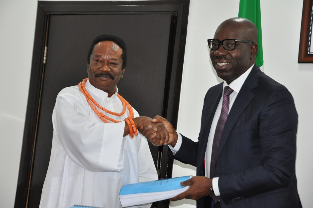 Gelegele Sea Port: Committee submits Technical Report to Edo Gov., Obaseki