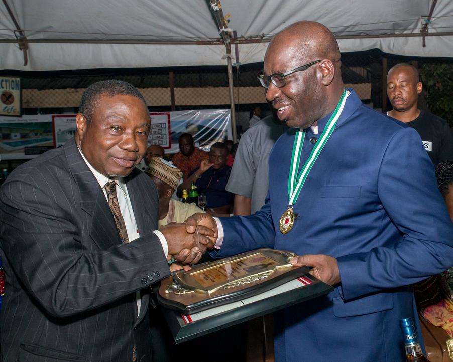 Obaseki installed First Patron of Benin Club