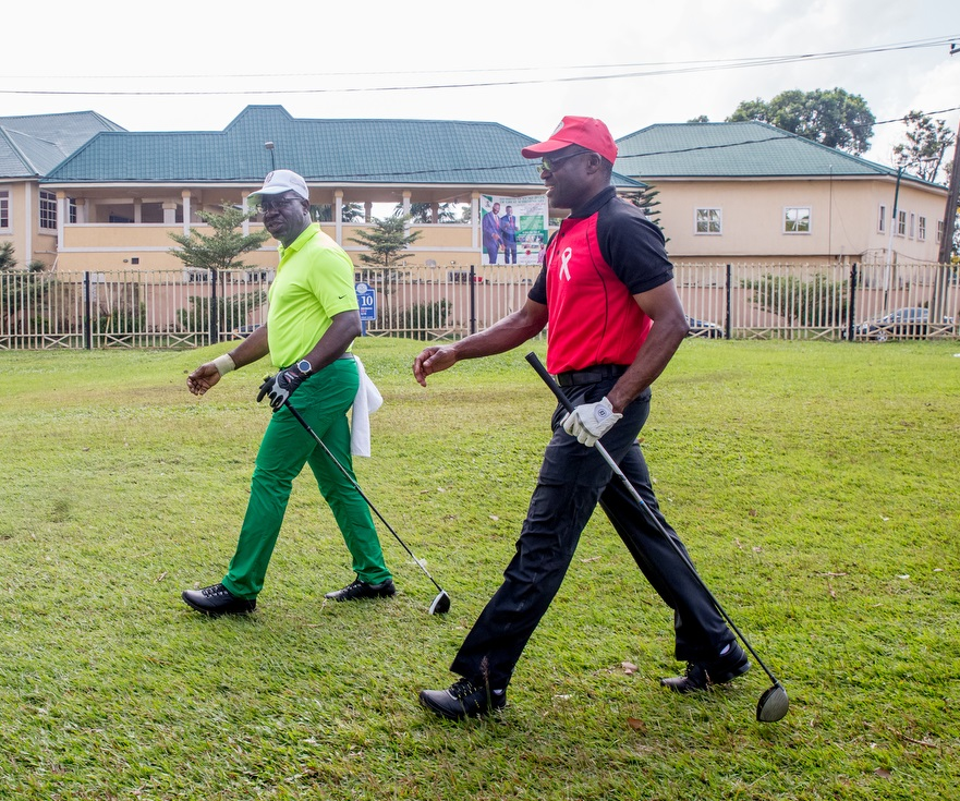 Shaibu at 48: Obaseki hosts deputy to surprise birthday Golf Tournament