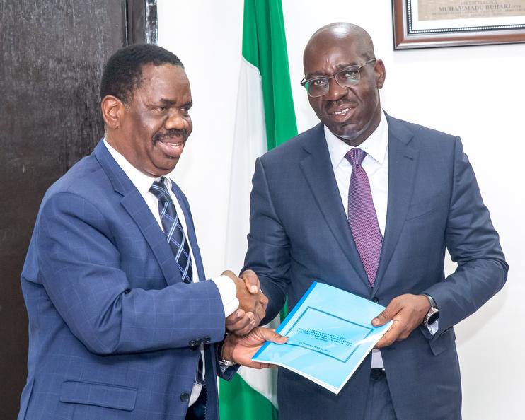 Obaseki receives Report on establishment of Edo Health Insurance Scheme