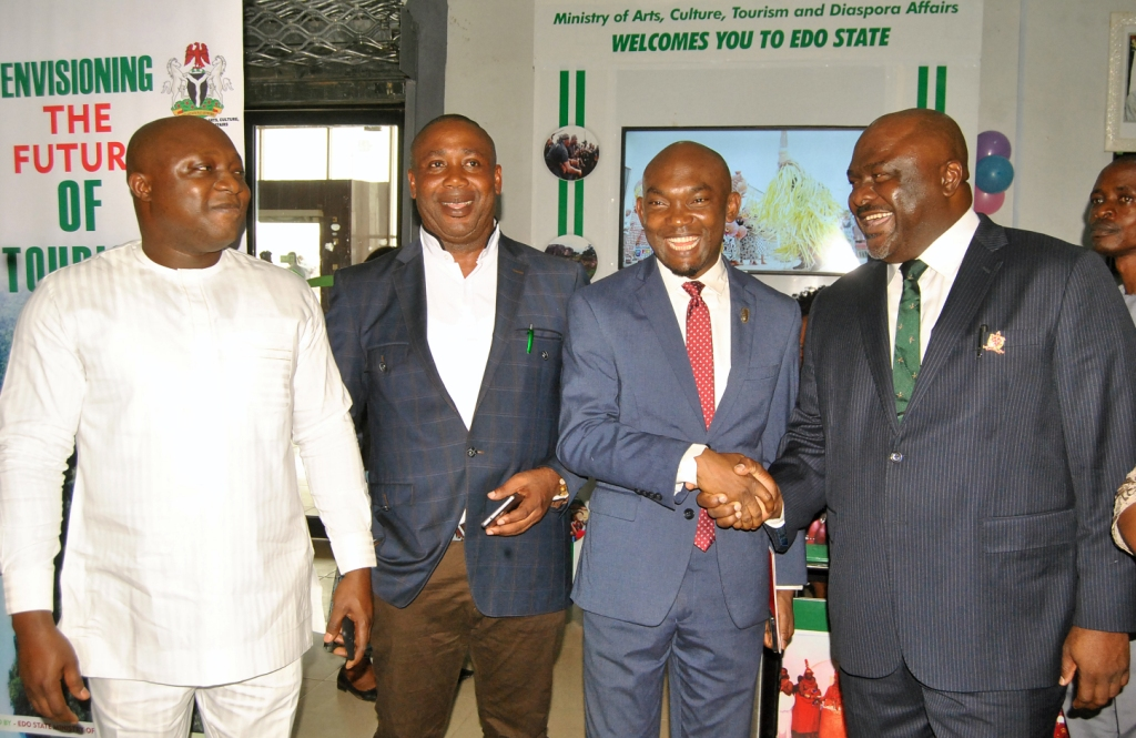 Edo Govt. unveils tourism desks at Benin Airport