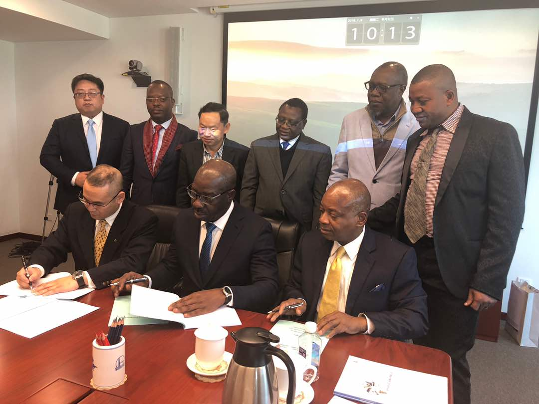 Obaseki, China SINOPEC sign 5,500bpd Edo Modular Refinery deal