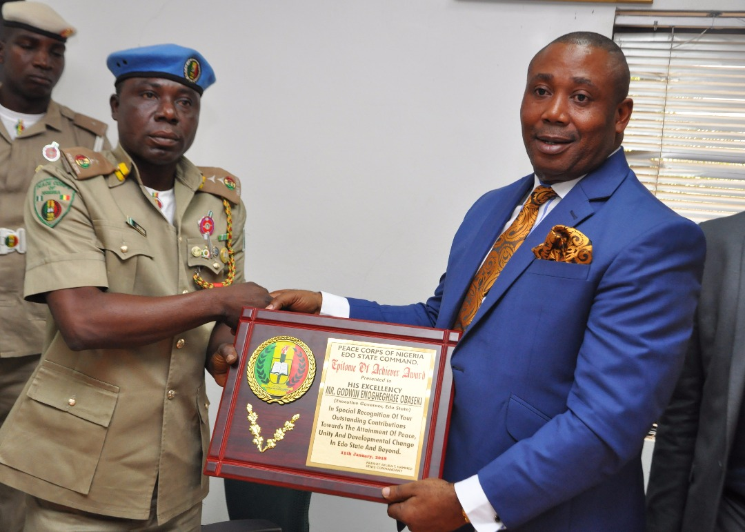 Human trafficking: Edo State Govt. to partner Peace Corps on returnees' re-integration