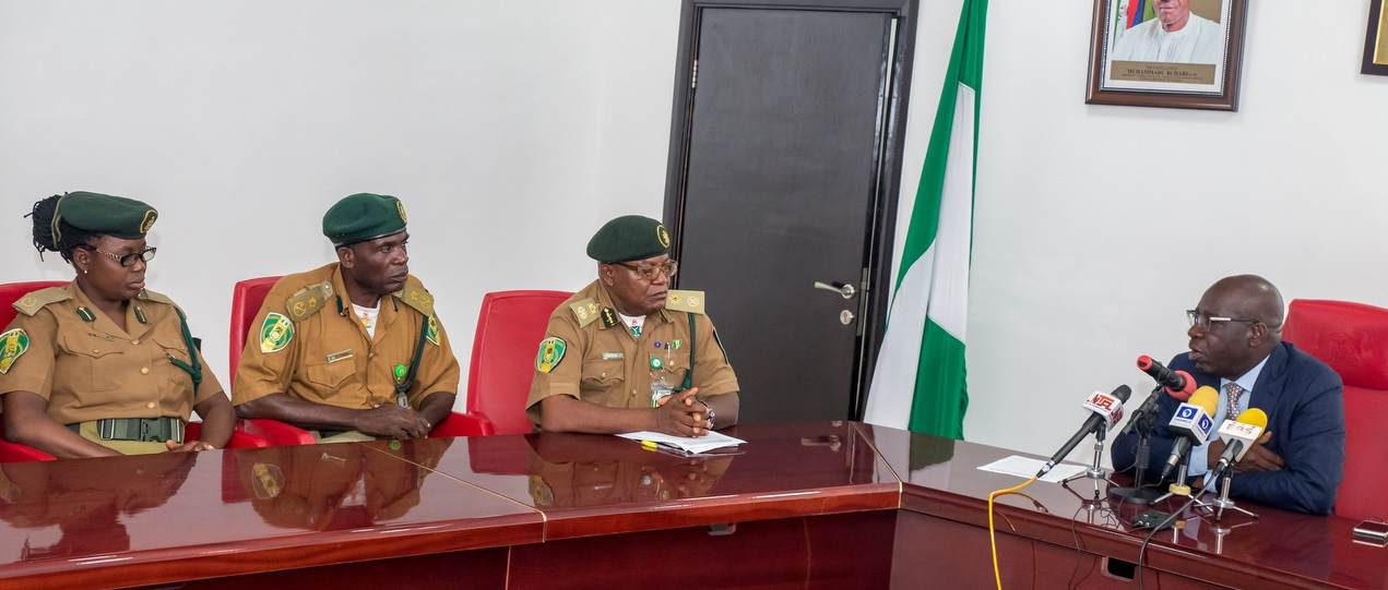 Obaseki partners NPS on construction of new prison, to relocate Sapele Road facility  …as State Controller apologizes for erring personnel