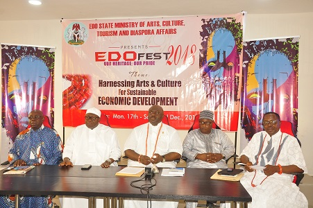 Edo Govt. to grow tourist traffic, showcase colourful culture at 2018 EDOFEST