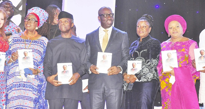 Osinbajo, Obaseki extol exemplary life of Late Archbishop Benson Idahosa