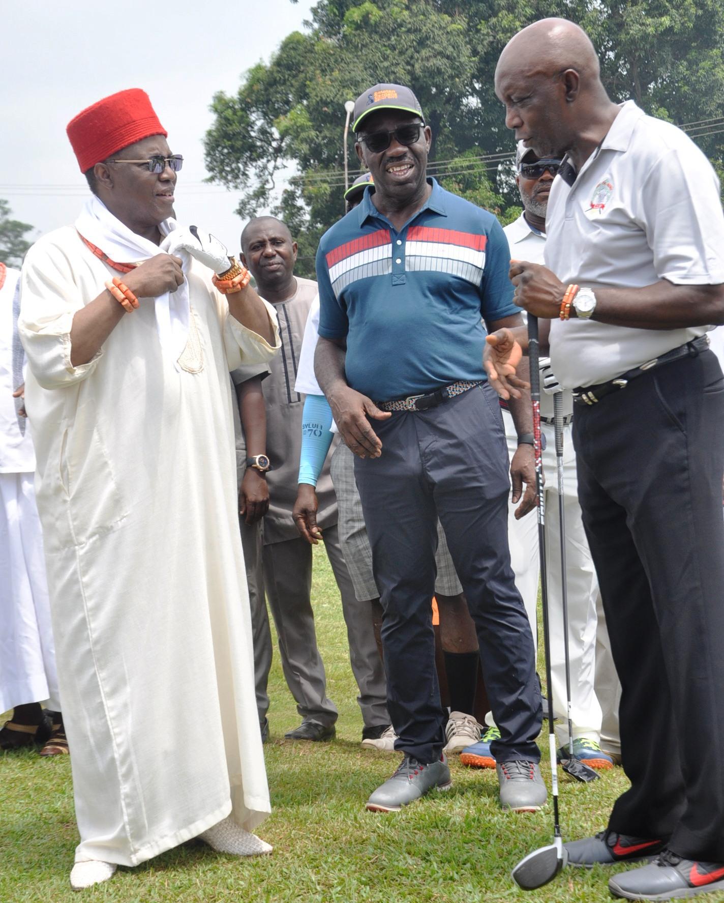 Oba of Benin Golf tournament to go international – Obaseki