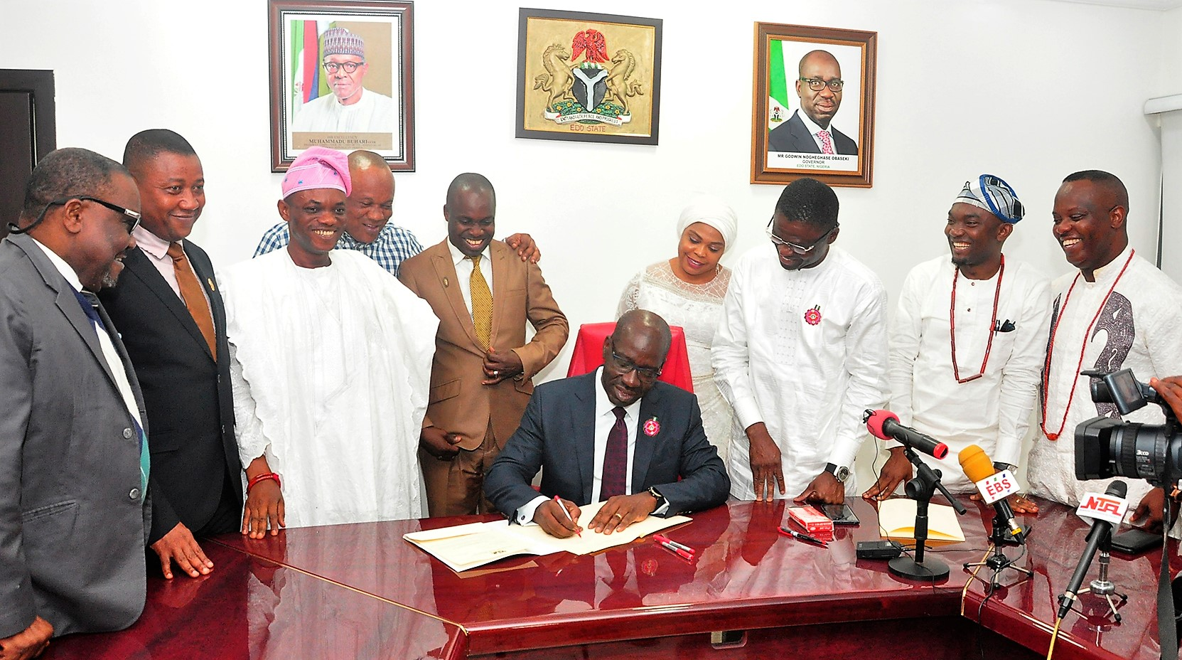 Obaseki signs N183.7bn budget for 2019