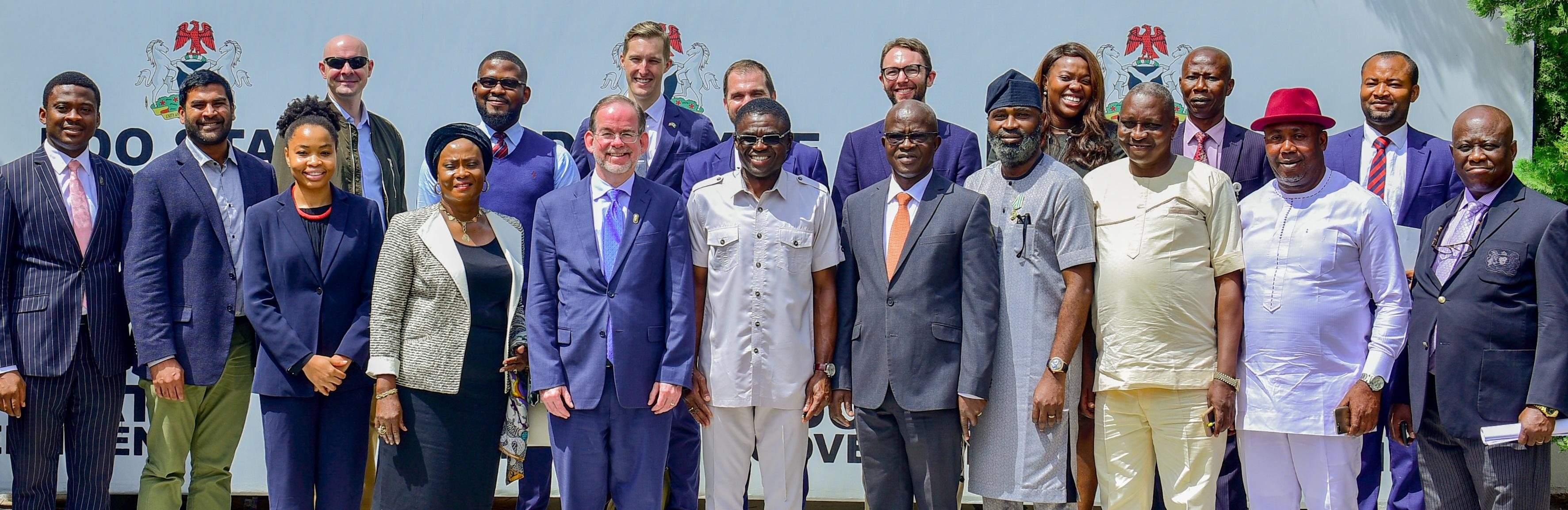 US govt applauds Obaseki's economic reforms, fight against human trafficking