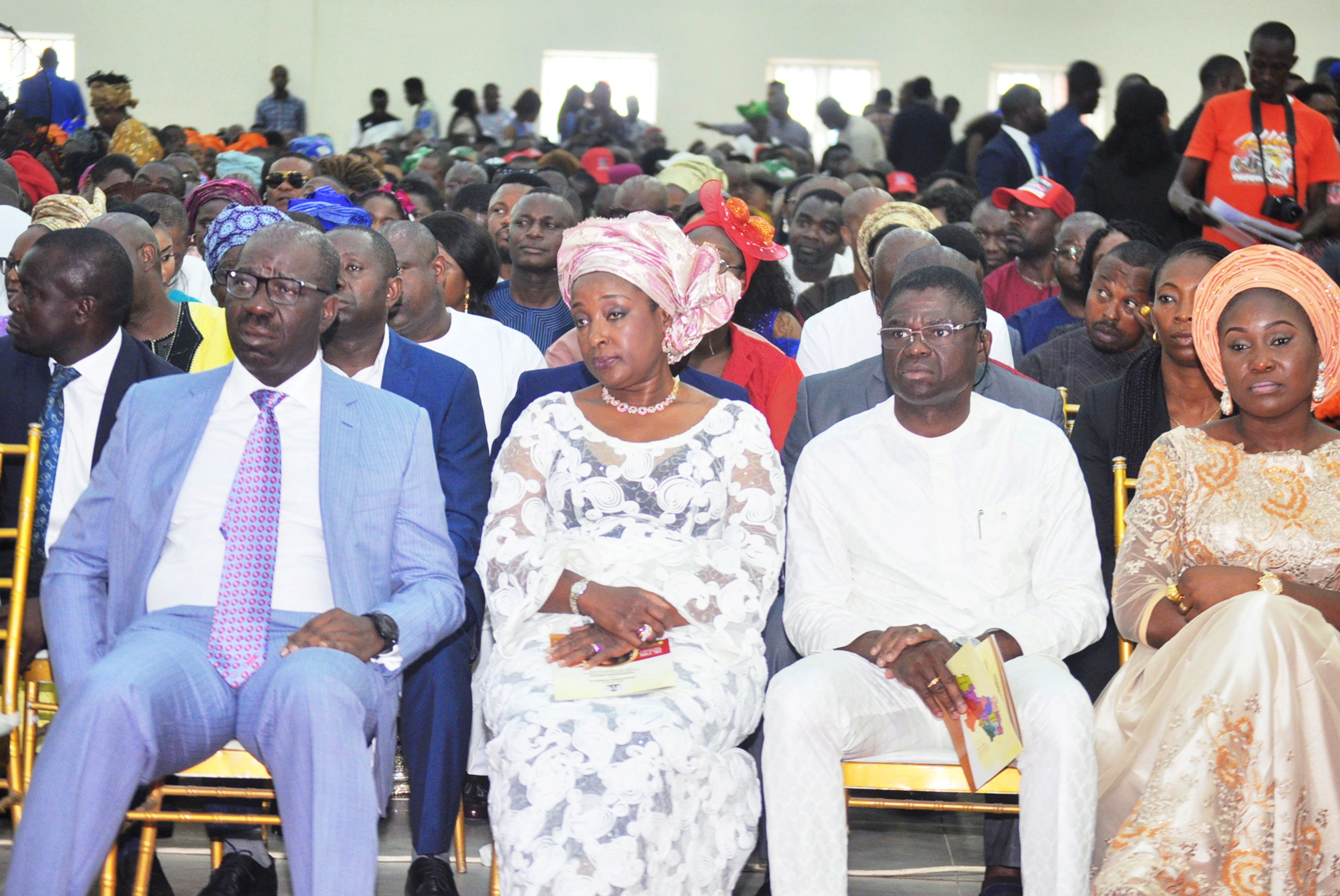 Obaseki leads Edo APC in thanksgiving service after successful polls