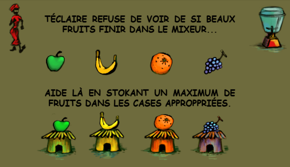 Fruits : règles