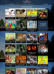 Page portfolio : Activités évènementielles