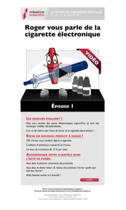 Newsletter — la e-cigarette